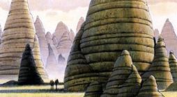 Alderaan concept art by Ralph McQuarrie.