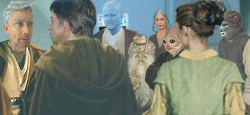 The Skywalker Twins are astounded to learn of the existence of five other Master Jedi from bygone years !