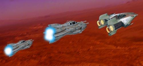 Master Dree Tan leads his wingmen towards Master Rancisis !