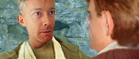 Nat illustrates this scene where Master Dree Tan describes his last twenty five years to Luke.