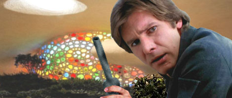 Han Solo identifies traces of Kessellian spice on the end of the nozzle.