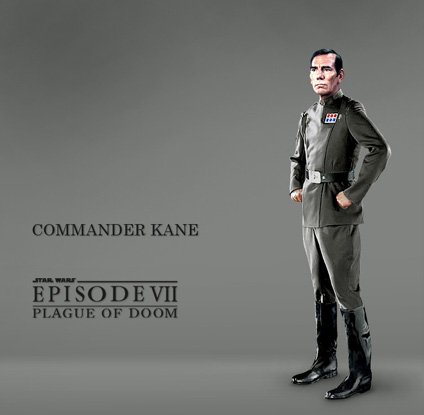 Commander Kane, audacious Imperial tactician