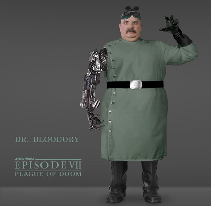Doctor Bloodory, evil scientist to the Imperial Empire