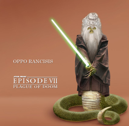 Oppo Rancisis, thisspiasian master Jedi and one-time High Councillor