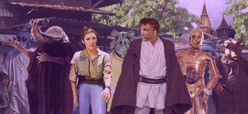 Leia discusses how her perception of her hated father is now changing.