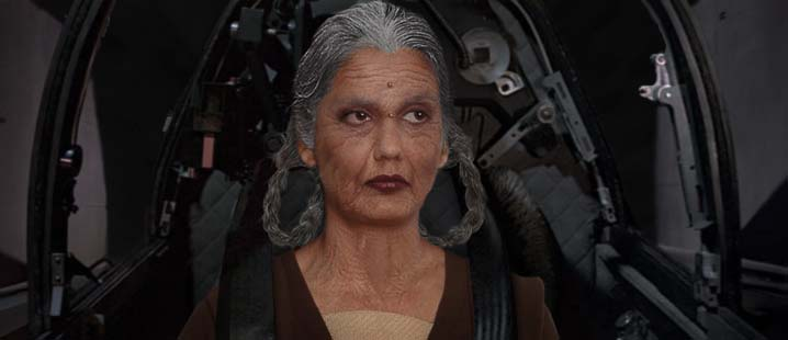 Depa Bilaba, Jedi Elder, suggests a defensive move....