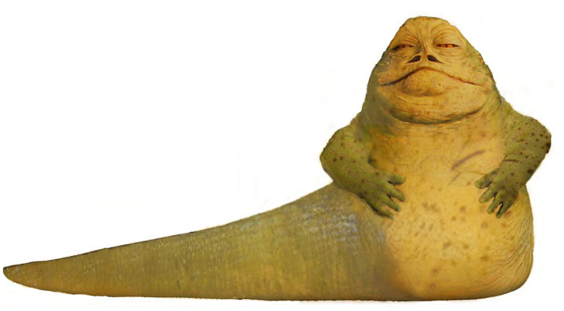 Weesla, the Hutt Lord of Kessel, concept artwork by Nat